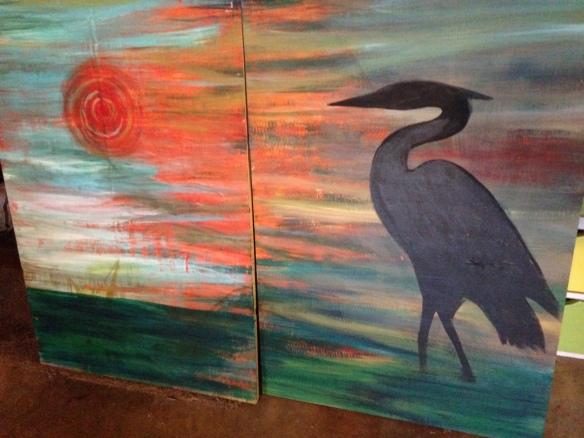 knockneed heron