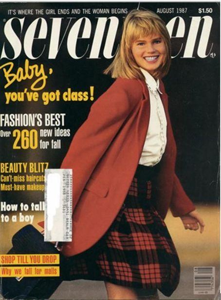Seventeen Magazine 1987